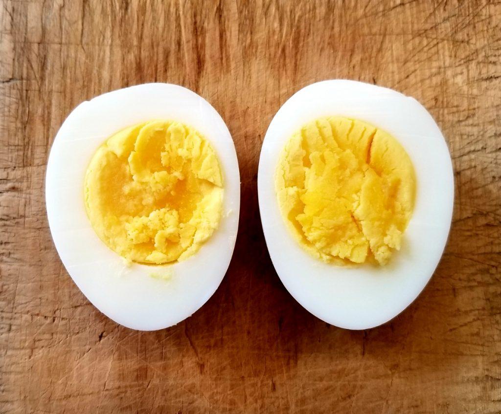 hard boiled egg 12 minutes