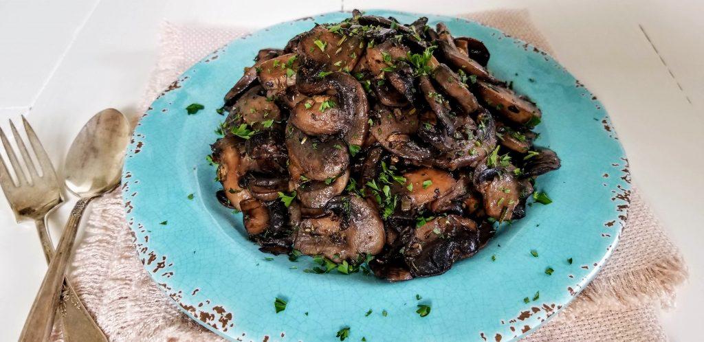 mushrooms on plate